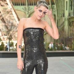 Kristen Stewart's Bold Fashion Show Look Defies Description