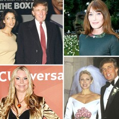 Donald Trump's Former Flames